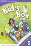 010 SB 5EP KID'S BOX PUPIL'S BOOK