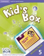 011 WB 5EP KID`S BOX-ACTIVITY BOOK + CD INTERATIVE