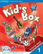 009 KID¦S BOX 1 ACTIVITY BOOK +CD
