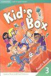 010 3EP KID 'S BOX PUPIL 'S BOOK