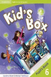 010 6EP KID`S BOX 6 PUPIL`S BOOK