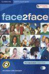 010 FACE 2 FACE B1 PRE-INTERMEDIATE STUDENT`S BOOK +CD