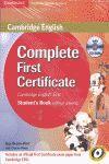 011 SB COMPLETE FIRST CERTIFICATE SIN RESPUESTAS +CD STUDENT`S