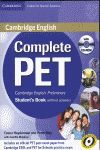 011 COMPLETE PET PRELIMINARY STUDENTS BOOKS WITHOUT ANSWERS (+CD)