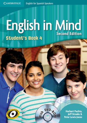 012 SB ENGLISH IN MIND 4 STUDENT´S BOOK (+ DVD)