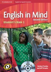 010 ENGLISH IN MIND 1 STUDENT ' S BOOK + DVDROM (SPANISH EDITION)