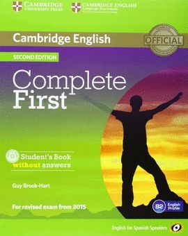 014 COMPLETE FIRST CERTIFICATE SB + WITHOUT ANSWERS