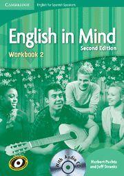 010 ENGLISH IN MIND 2 WORKBOOK + CD