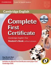 014 COMPLETE FIRST SB WITH ANSWERS+CLASS AUDIO CD
