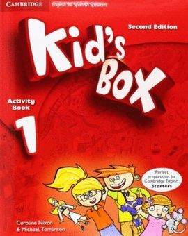 014 1EP WB KID'S BOX  WITH CD-ROM SECOND EDITION