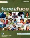 010 FACE TO FACE + CD ADVANCED - STUDENT`S BOOK SPANISH