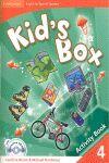 010 KID`S BOX 4 -ACTIVITY BOOK (+CD-ROM)