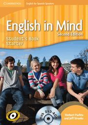 011 ENGLISH IN MIND FOR SPANISH SPEAKERS STARTER STUDENT¦S BOOK..