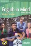 010 ENGLISH IN MIND 2 STUDENT`S BOOK +DVD 2ªED