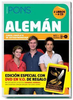 CURSO PONS ALEMAN -CURSO COMPLETO DE AUTOAPRENDIZAJE (+ CD¦S-DVD)