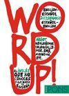 WORD UP! DICCIONARIO DE ARGOT INGLES