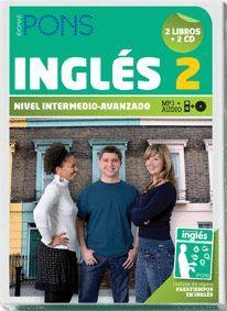 INGLES 2 NIVEL INTERMEDIO-AVANZADO (2 LIBROS + 2 CS)