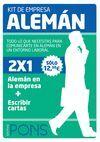ALEMAN KIT DE EMPRESA (+CD)