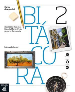 016 BITÁCORA 2 - LIBRO DEL ALUMNO + CD - NIVEL A2