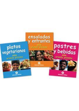 3VOLS PLATOS VEGETARIANOS / ENSALADAS Y ENTRANTES / POSTRES...