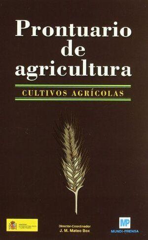 PRONTUARIO DE AGRICULTURA -CULTIVOS AGRICOLAS