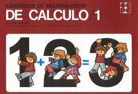 DE CALCULO/1. EJERCICIOS DE RECUPERACION. NIVEL INICIACION