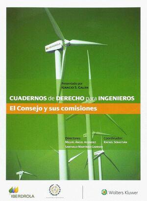 CUADERNO DE DERECHO PARA INGENIEROS, 34. EL CONSEJO Y SUS COMISIONES