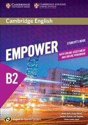 016 SB EMPOWER FOR SPANISH SPEAKERS B2 STUDENT'S BOOK WITH ONLINE ASS