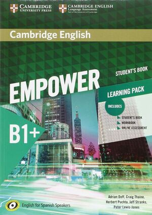 ST B1 CAMBRIDGE ENGLISH EMPOWER FOR SPANISH WITH ONLINE AS