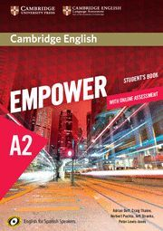 016 SB EMPOWER FOR SPANISH SPEAKERS A2 STUDENT'S BOOK WITH ONLINE ASS