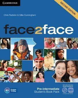 014 FACE2FACE PRE-INTERMEDIATE PACK STUDENT'S BOOK+ SPANISH SPEAKERS HADBOOK + WORKBOOK WITH KEY