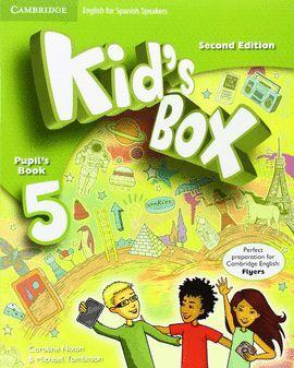 015 5EP KID'S BOX PUPIL'S