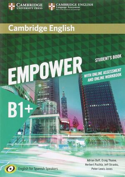 018 SB+WB  EMPOWER B1+ INTERMEDIATE WITH ONLINE