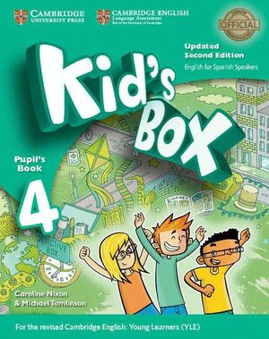 017 4EP SB KID'S BOX ENGLISH