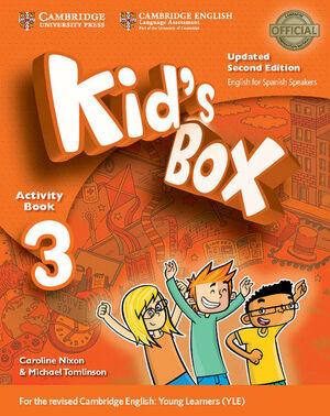 017 3EP WB KID'S BOX