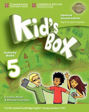 017 5EP WB KID'S BOX