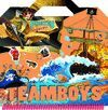 TEAMBOYS PIRATES STICKERS! REF.611-02