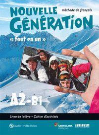 020 A2-B1 NOUVELLE GENERATION LIVRE+EX+CD+DV (FOUT EN UN)