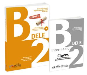020 PACK DELE B2  LIBRO + CLAVES
