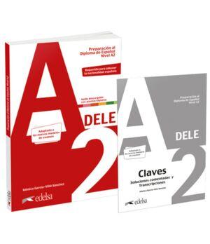 PACK AL DELE A2 -PREPARACION AL DIPLOMA DE ESPAÑOL NIVEL A2 2020