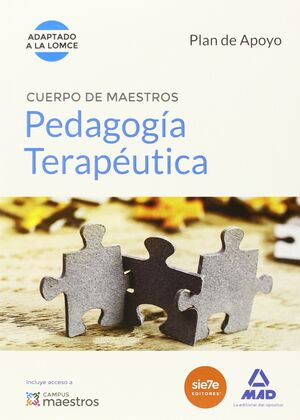 015 PLAN APOYO PEDAGOGÍA TERAPEÚTICA CUERPO MAESTROS ADAPTADO LOMCE