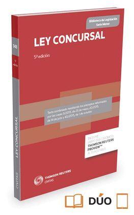 015 N148 LEY CONCURSAL (PAPEL + E-BOOK)