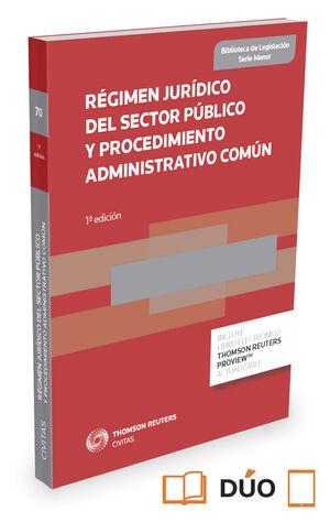 015 N70 REGIMEN JURIDICO DEL SECTOR PUBLICO Y PROCEDIMIENTO ADMINISTRATIVO COMUN