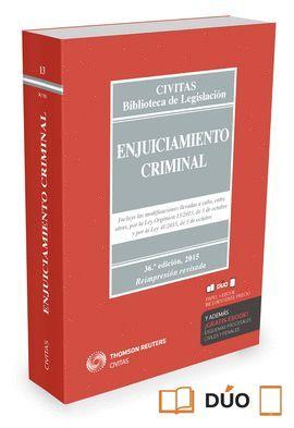 015 N13 ENJUICIAMIENTO CRIMINAL (PAPEL + E-BOOK)
