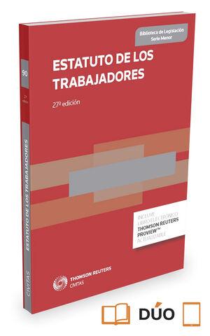 016 N90 ESTATUTO DE LOS TRABAJADORES (PAPEL + E-BOOK)