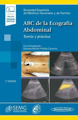 ABC DE LA ECOGRAFÍA ABDOMINAL INCLUYE E-BOOK