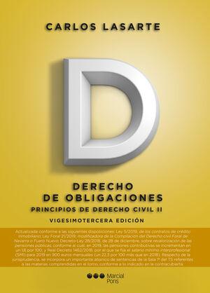 019 T2: DERECHO OBLIGACIONES -PRINCIPIOS DE DERECHO CIVIL