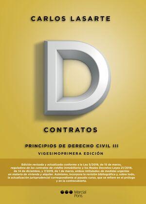 019 T3 CONTRATOS. PRINCIPIOS DE DERECHO CIVIL