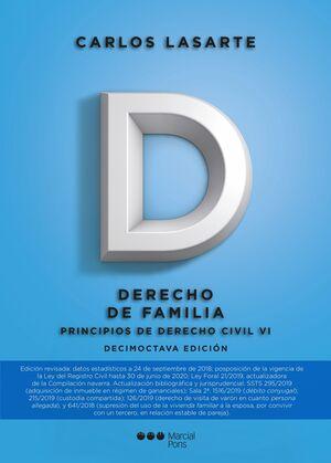 019 T6 PRINCIPIOS DERECHO CIVIL: DERECHO FAMILIA