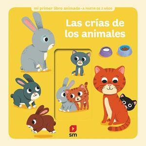 LAS CRÍAS DE LOS ANIMALES LIBRO ANIMADO